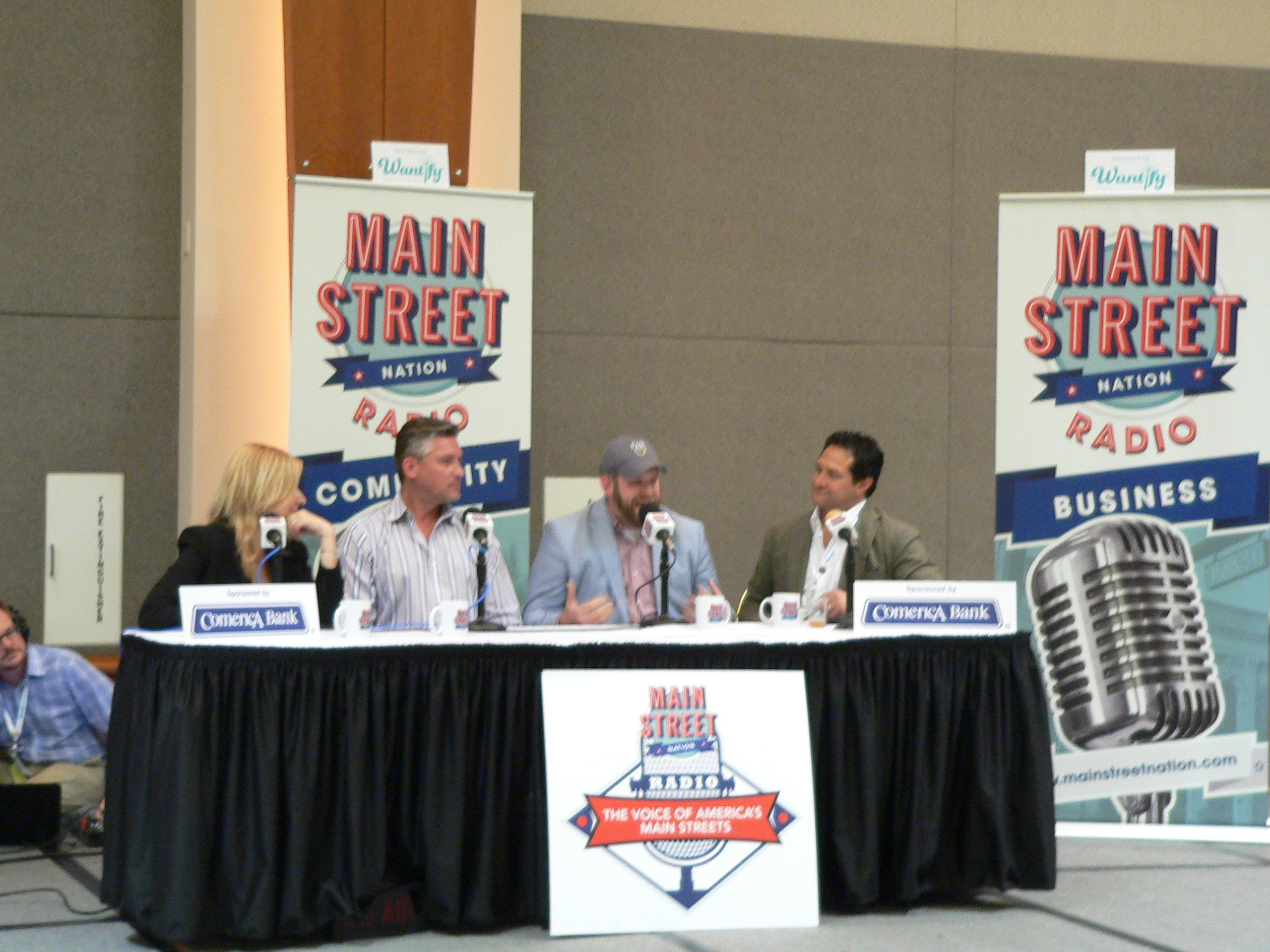 Kristi, Ron, Ben and Jeff Live from Main Street Now in Milwaukee